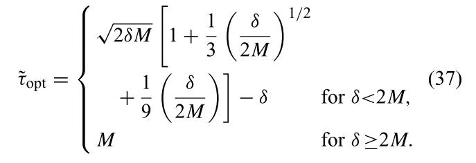 Higher order model of optimal cost